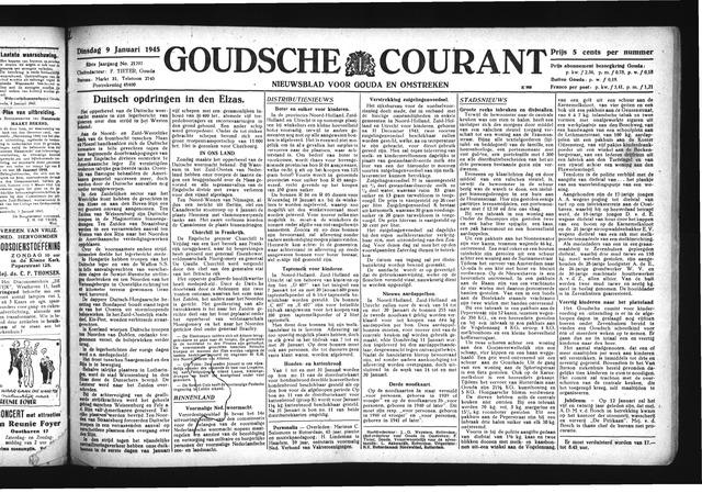 Goudsche Courant 1945-01-09