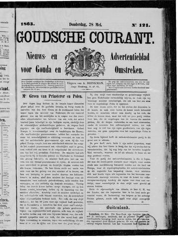 Goudsche Courant 1863-05-28