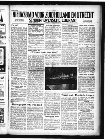 Schoonhovensche Courant 1949-11-09