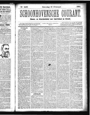 Schoonhovensche Courant 1904-02-27