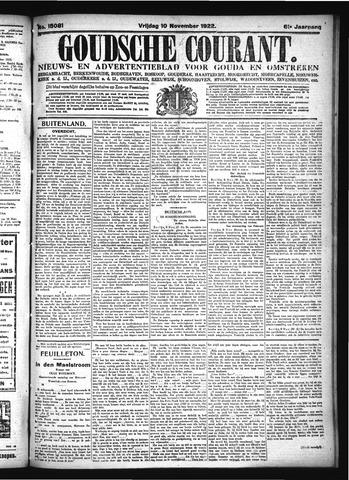 Goudsche Courant 1922-11-10
