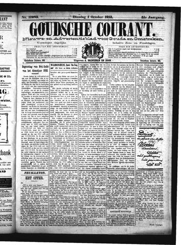 Goudsche Courant 1912-10-01