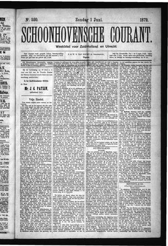 Schoonhovensche Courant 1879-06-01