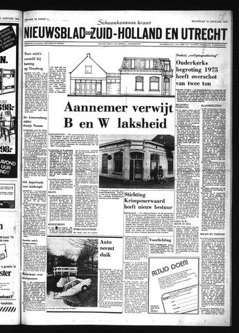 Schoonhovensche Courant 1975-01-13