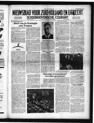 Schoonhovensche Courant 1951-09-24