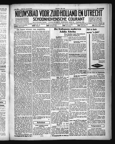 Schoonhovensche Courant 1936-05-01