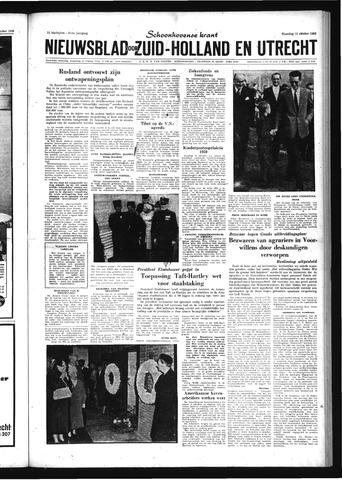 Schoonhovensche Courant 1959-10-12
