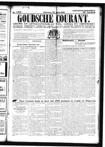 Goudsche Courant 1929-04-20