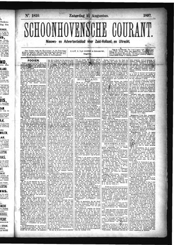 Schoonhovensche Courant 1897-08-21