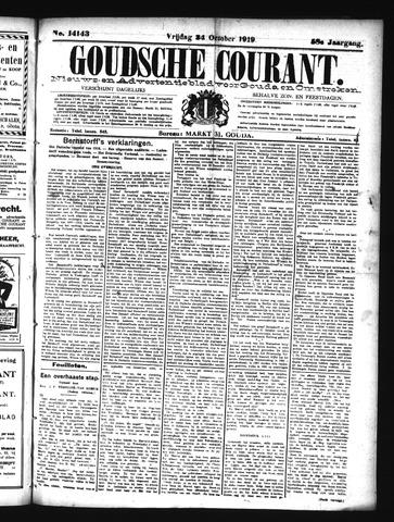 Goudsche Courant 1919-10-24