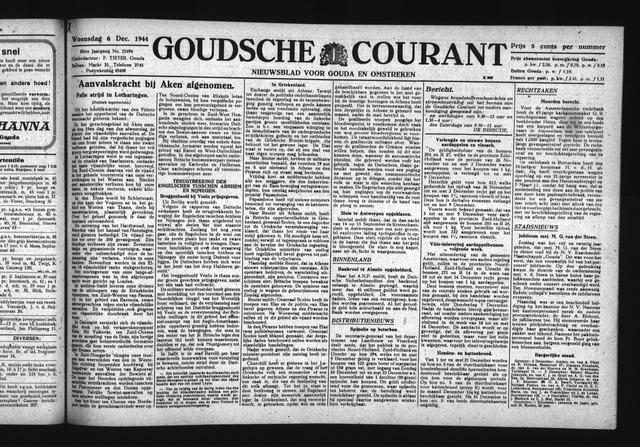 Goudsche Courant 1944-12-06