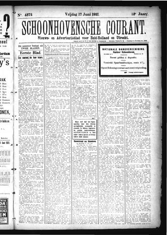 Schoonhovensche Courant 1921-06-17