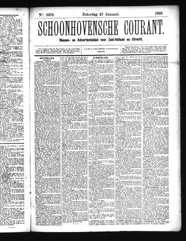 Schoonhovensche Courant 1903-01-17