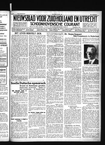 Schoonhovensche Courant 1940-05-20