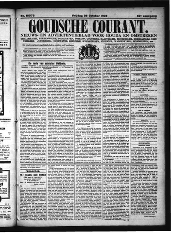 Goudsche Courant 1923-10-26