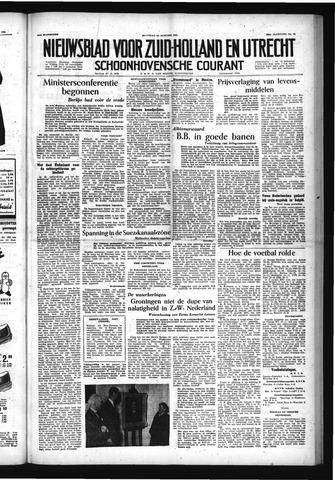 Schoonhovensche Courant 1954-01-25