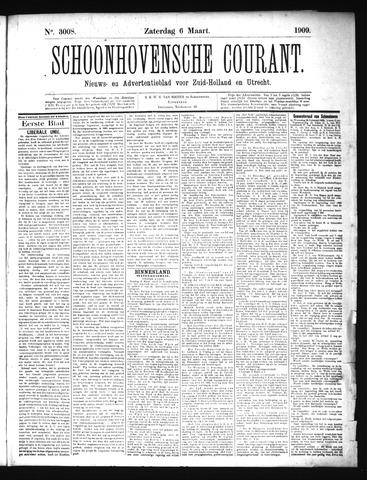 Schoonhovensche Courant 1909-03-06
