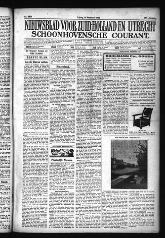 Schoonhovensche Courant 1928-11-16