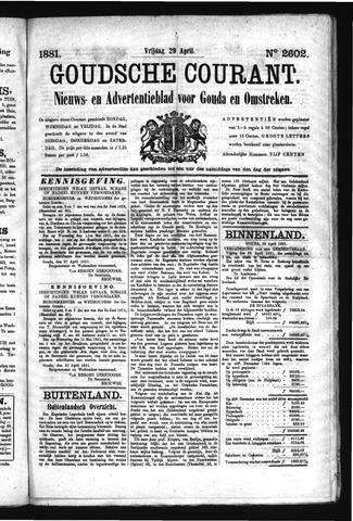 Goudsche Courant 1881-04-29