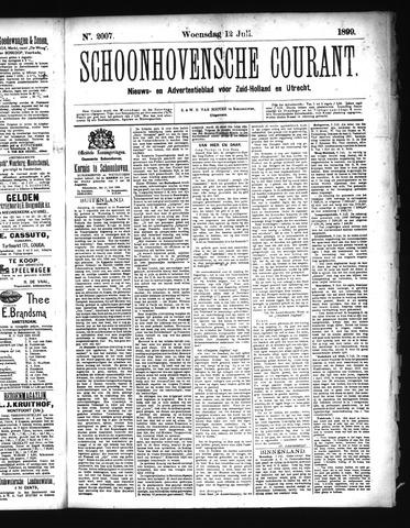 Schoonhovensche Courant 1899-07-12