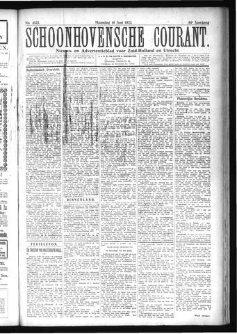 Schoonhovensche Courant 1922-06-19