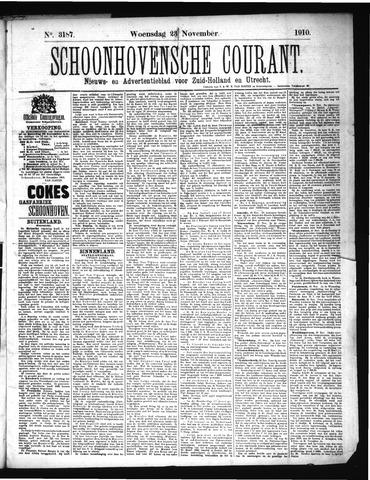 Schoonhovensche Courant 1910-11-23