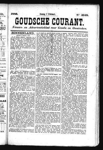 Goudsche Courant 1886-02-07