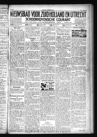 Schoonhovensche Courant 1929-11-04