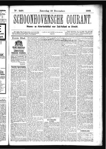 Schoonhovensche Courant 1903-12-19