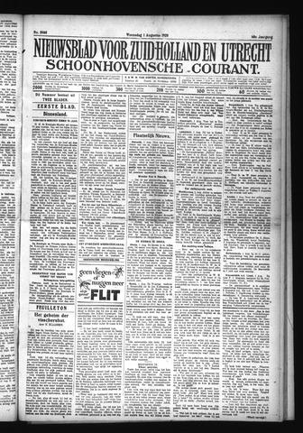 Schoonhovensche Courant 1928-08-01