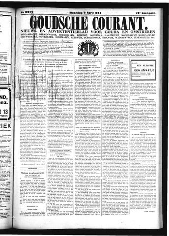 Goudsche Courant 1934-04-09