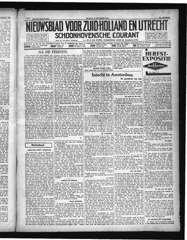 Schoonhovensche Courant 1936-09-18