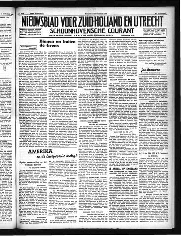 Schoonhovensche Courant 1940-10-16