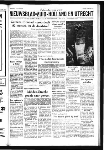 Schoonhovensche Courant 1971-01-25