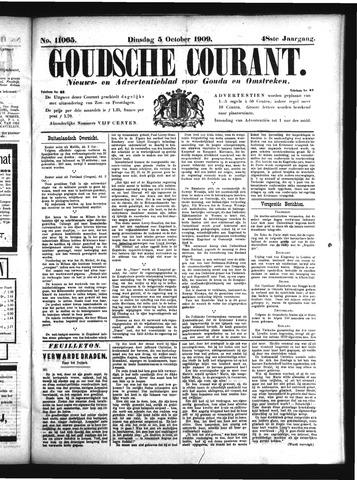 Goudsche Courant 1909-10-05