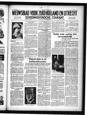 Schoonhovensche Courant 1951-02-19