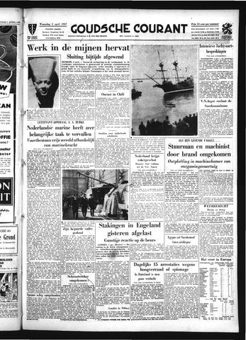 Goudsche Courant 1957-04-03