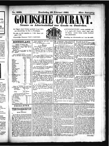 Goudsche Courant 1895-02-28