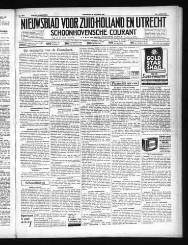 Schoonhovensche Courant 1937-10-20