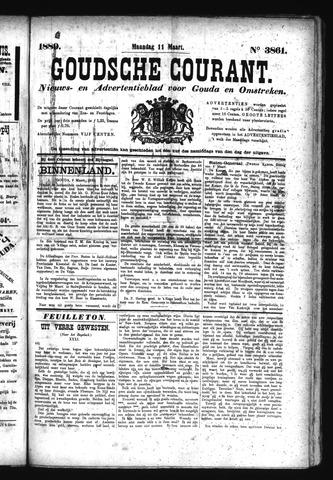 Goudsche Courant 1889-03-11