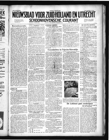 Schoonhovensche Courant 1948-02-27