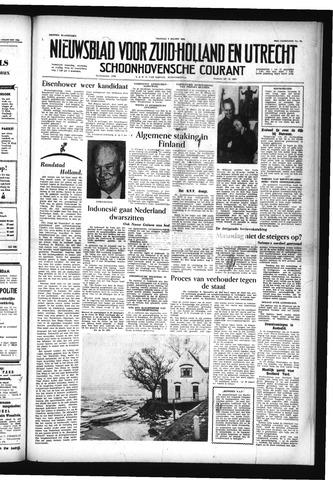 Schoonhovensche Courant 1956-03-02