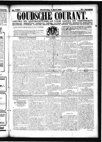 Goudsche Courant 1929-04-04