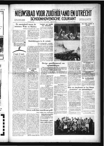 Schoonhovensche Courant 1958-05-02