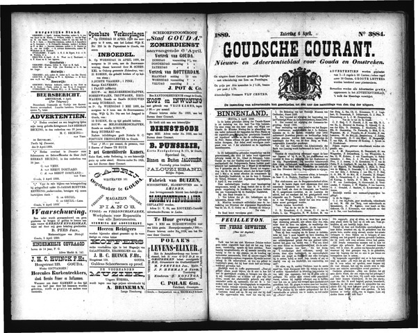 Goudsche Courant 1889-04-06