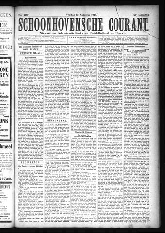 Schoonhovensche Courant 1923-08-10