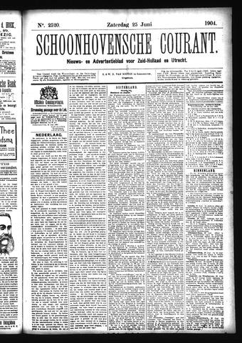 Schoonhovensche Courant 1904-06-25