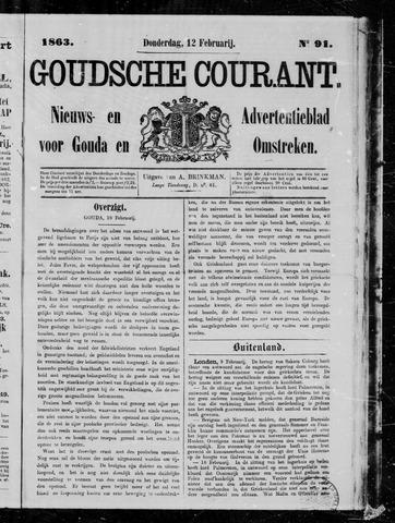 Goudsche Courant 1863-02-12