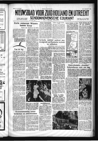 Schoonhovensche Courant 1957-08-30