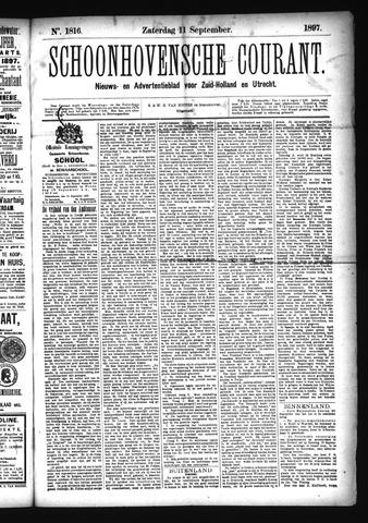 Schoonhovensche Courant 1897-09-11